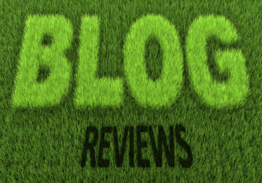 review your blog and mention it in comments of top Blog