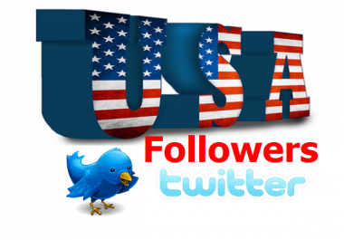 Get You 1,000 *Real HQ USA* Twitter Followers Instant Delivery Within 6 To 12 Hours