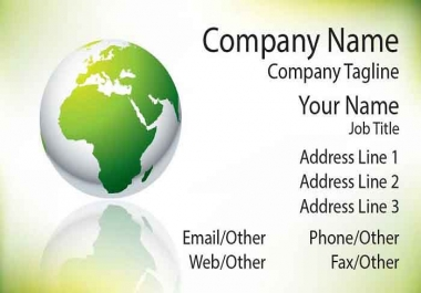 print and ship 5 chrome laminated Plastic Business Cards