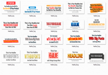 give 20 Latest High Impact Headlines for Easy Use