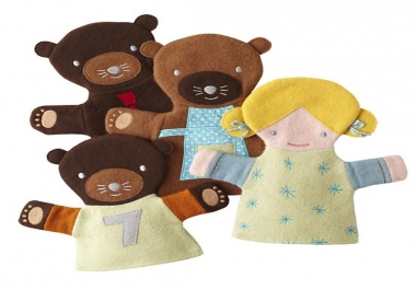 Make Personalized Hand-Puppets for Your Kids!