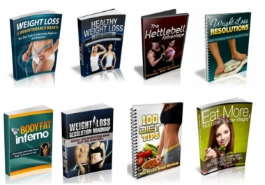 give you 100 Weight loss ebooks