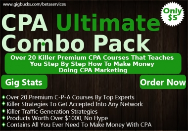 Teach You How To Make Money With CPA Make Over 100 Dollars A Day