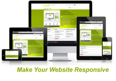 make responsive and friendly website