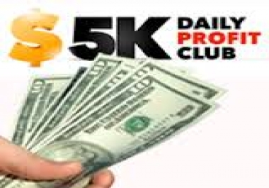 teach you how to earn $5,000 in 30days