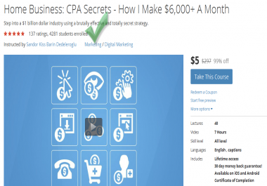 give u a coupon for sell 23 high quality business courses