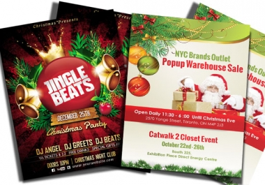 design Flyer, Brochure, Banner and Headers