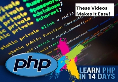 send Videos Learn PHP In 14 Days Guaranteed
