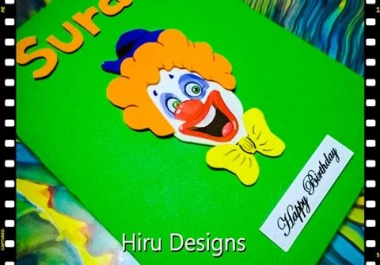 create customize greeting card for you