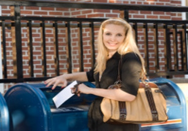 receive and re-mail your letter to anywhere in the US