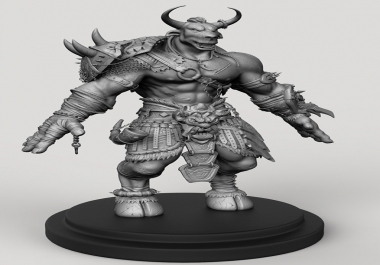 do character or creature modeling in zbrush