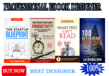 design quality 2D or 3D Kindle or eBook Cover in 24 hours