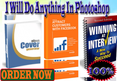 design and edit anything in photoshop for you within 24 hours