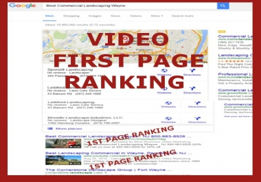 create Seo Optimized Video Review Testimonial ranking