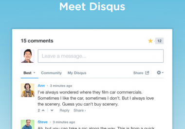 add Disqus comment system in WordPress