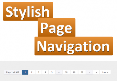 Stylish Page Navigation for WordPress