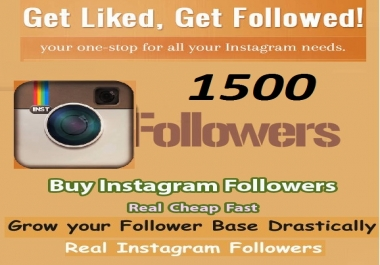 Add Instant 1500 Instagram Followers or Facebook Likes or Youtube Views