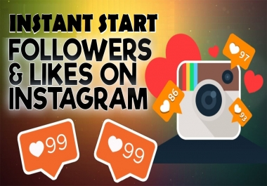 Add 1000 Instagram Followers or 1000 likes super fast instant and (Express Delivery)