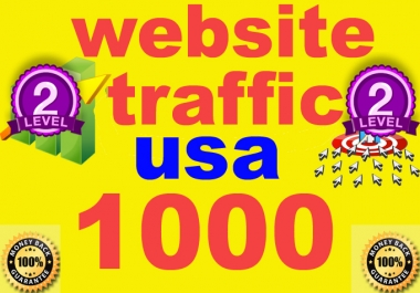 give 1000 Verified USA website Traffic