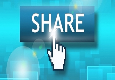 provide Social share for your website,blog,post or any video