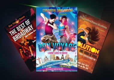 do AMAZING Flyer, Brochure, Poster and Postcard