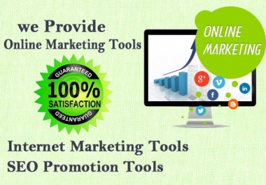 provide around 600 Traffic and seo marketing software collection