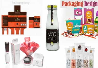 give you product packaging design on Box Label Blister Pack