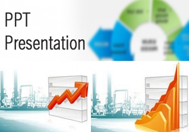 create PPT for your web site natural traffic and 25 different site submission