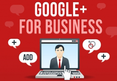 promote service or product from 115000 follower base Google plus profile