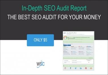 do an In Depth and Complete SEO Website Audit