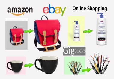 professionally edit product photos for online shopping