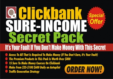 Teach You How To Make Over 200 Dollars Daily From Clickbank
