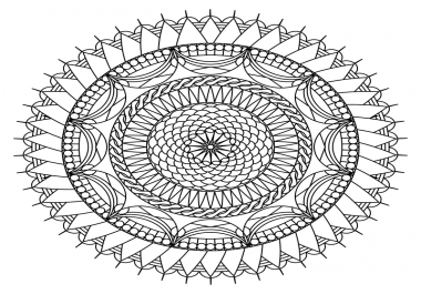 design 10 Complex Mandalas For Your Adult Coloring Book