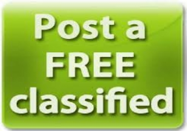 post your ad on 40 USA Classifieds