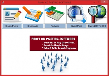 give Ad Posting Software for getting more Traffic to your site