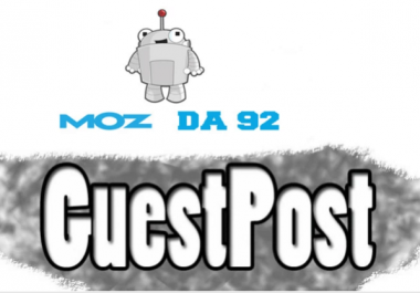 write Guest Post On DA 91website