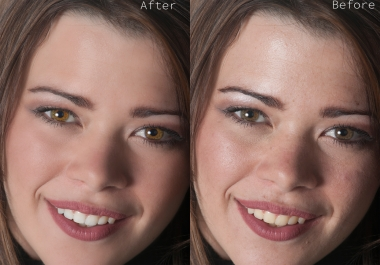 do PHOTOSHOP image editing,retouching and design your images. i will design a logo or professional business card or banner in less then 12 hours