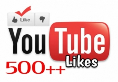 give you 500+ REAL Youtube likes to your new video