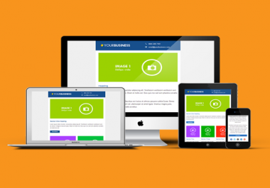create professional, fully responsive HTML email templates. Starting