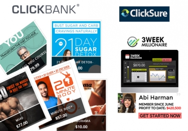 let you learn how to make $100 per day from click bank
