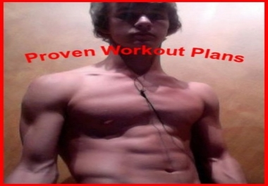 Create a personalized workout plan for you
