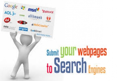 submit site on all major search engine