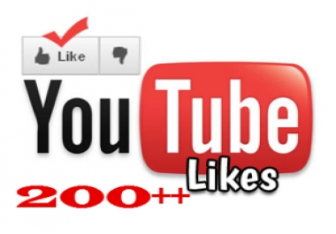 give 200+ REAL YouTube likes to your new video within 24 hrs