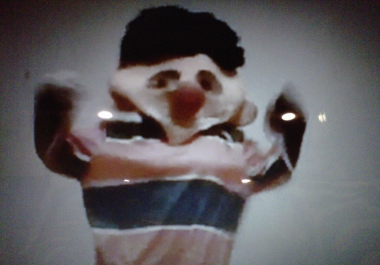 dance in my ernie costume to any song for 2 minutes