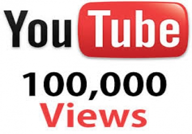 provide 100.000 youtube views