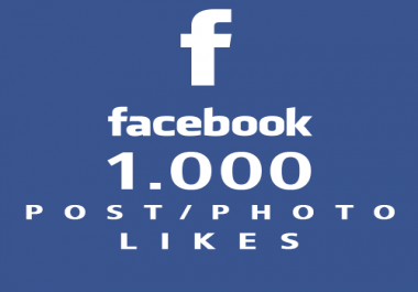 add 1000 Real Facebook Photo Post Likes