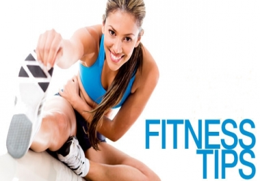 give you important tips about fitness