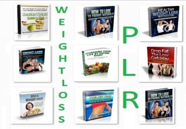 give you 26 Ebooks Weight Loss PLR hight quality