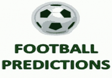 predict two football matches in not less than two odds.
