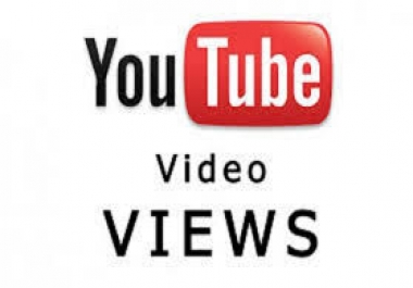 give you 4000+ High Retention Youtube Views Splitable